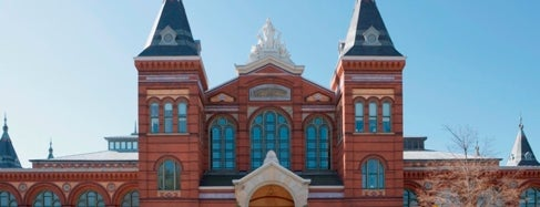Smithsonian Institution Building (The Castle) is one of IWalked WashDC's National Mall (Self-guided Tour).