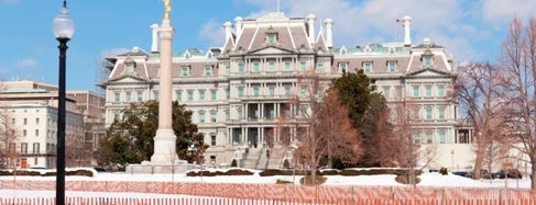 Eisenhower Executive Office Building is one of IWalked WashD.C.'s Foggy Bottom (Self-guided Tour).