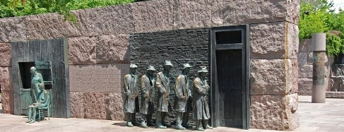 Franklin Delano Roosevelt Memorial is one of IWalked WashDC's National Mall (Self-guided Tour).