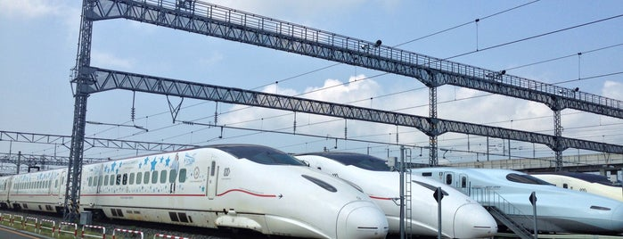 JR九州 熊本総合車両所 is one of JRの総合車両センター・工場.