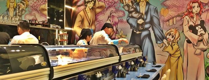 Manga Sushi is one of Locais curtidos por Els.