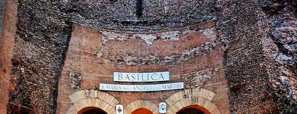 Basílica de Santa María de los Ángeles y los Mártires is one of Supova in Roma.