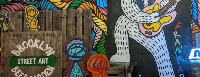 Brooklyn Beer Garden - Bushwick is one of The NYC Bar Guide.
