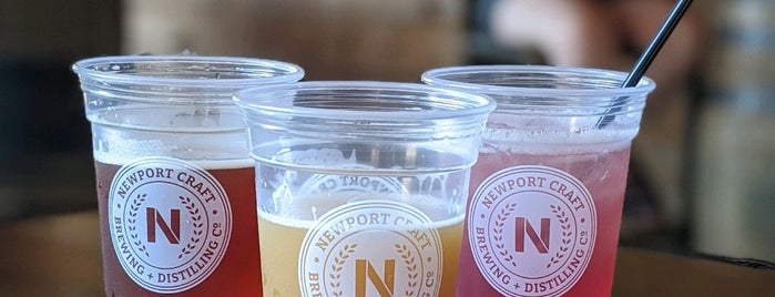 Newport Craft Brewing And Distilling Co. is one of Travel // Newport.