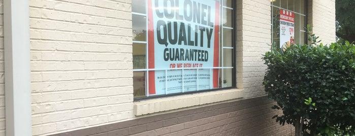 KFC is one of สถานที่ที่บันทึกไว้ของ al.