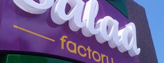 Salad Factory is one of Locais curtidos por Massiel.