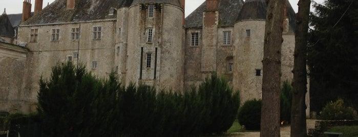 Château de Meung-sur-Loire is one of 「带一本书去巴黎」.