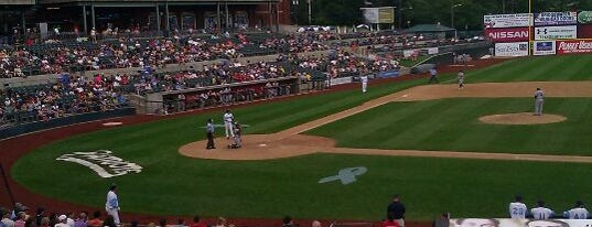 TD Bank Ballpark home to Somerset Patriots Baseball is one of Atlantic League of Professional Baseball Stadiums.