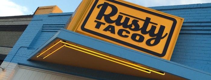 Rusty Taco Denton is one of Wade'nin Beğendiği Mekanlar.