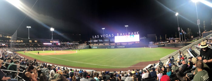 Las Vegas Ballpark is one of สถานที่ที่ Motts ถูกใจ.
