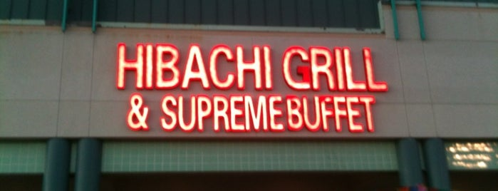 Hibachi Grill & Supreme Buffett is one of Would visit.