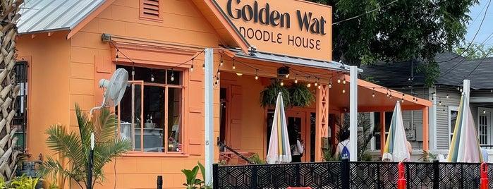 Golden Wat Noodle House is one of Lieux qui ont plu à Ron.