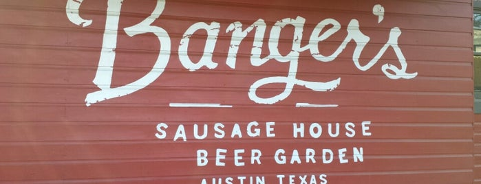 Banger's Sausage House & Beer Garden is one of Austin, TX.