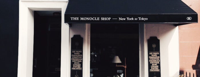 The Monocle Shop is one of London Lifestyle Guide.