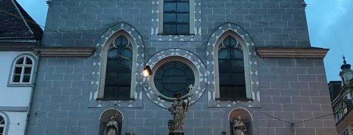 Franziskanerkirche is one of Vienna.