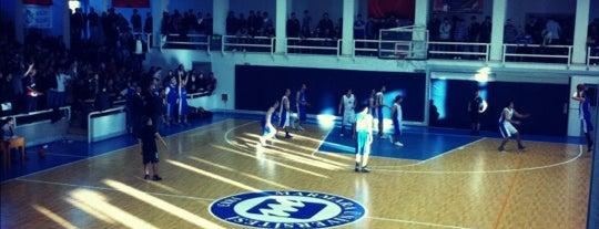 Marmara Üniversitesi Büyük Spor Salonu is one of Özel.