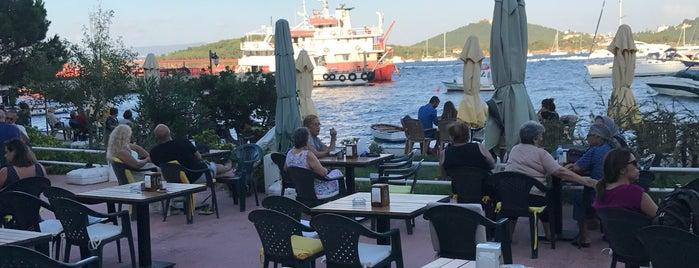fincan restaurant burgazada is one of Istanbul Culinary Guide of Cem Oz.