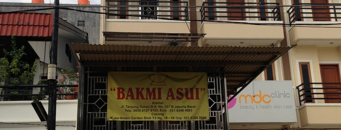 Bakmi Asui is one of Kuliner Resto/Cafe ♥.