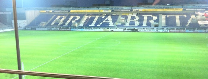 BRITA Arena is one of Stadiums I've been to.