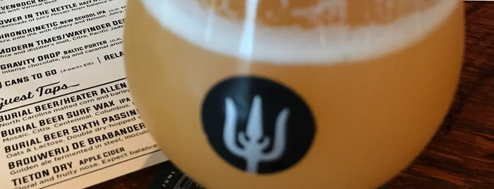 Wayfinder Beer is one of Lieux qui ont plu à PDX.