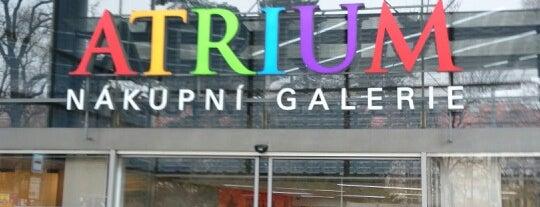 Nákupní galerie Atrium is one of สถานที่ที่ Кристина ถูกใจ.