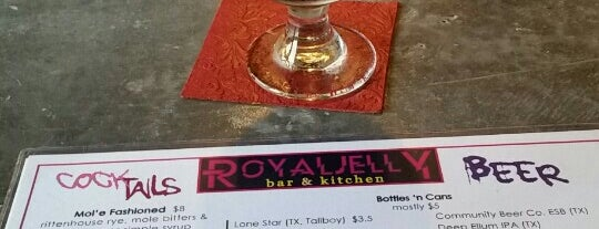 Royal Jelly is one of Austin Happy Hour.
