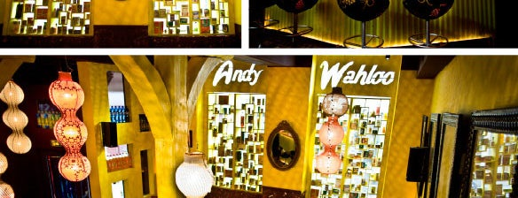 Andy Wahloo is one of Paris.