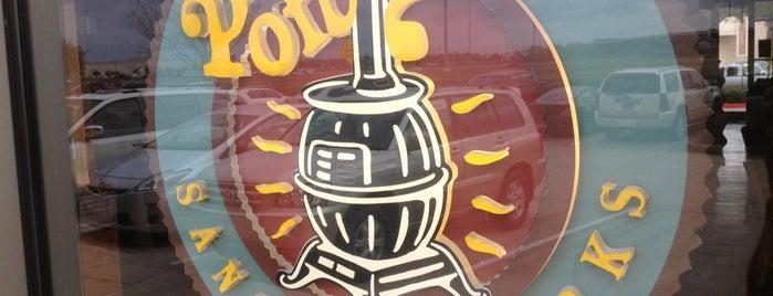 Potbelly Sandwich Shop is one of ESTHER'in Beğendiği Mekanlar.