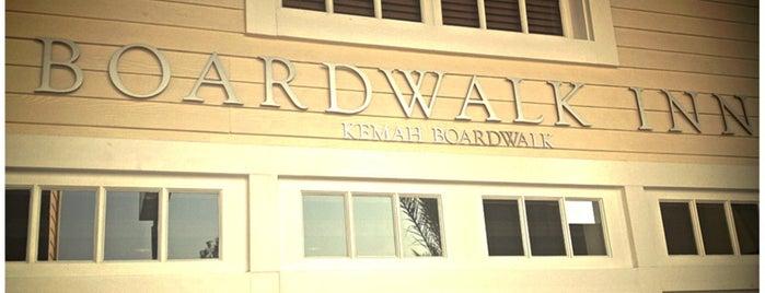 Boardwalk Inn is one of Would go again.
