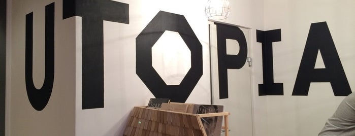 Utopia 8 intelligent store is one of Locais curtidos por Anna.