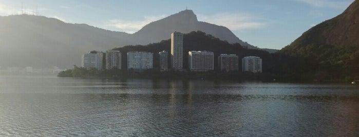 Lagoa Rodrigo de Freitas is one of Henrique 님이 좋아한 장소.