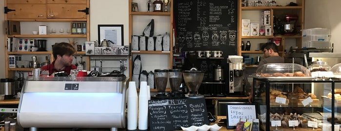 Fahrenheit Coffee is one of Travel Guide to Toronto.