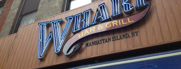Wharf Bar & Grill is one of with Bob.