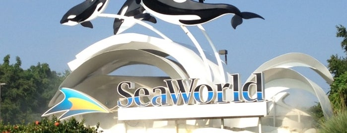 SeaWorld Orlando is one of Locais salvos de Scott.