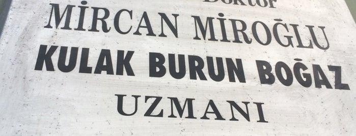 Op. Dr. Mircan Miroğlu is one of สถานที่ที่ Staar 🌟★🌟 ถูกใจ.