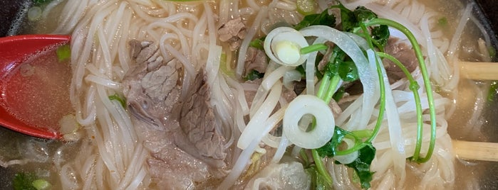 Pho 24 is one of favorites.