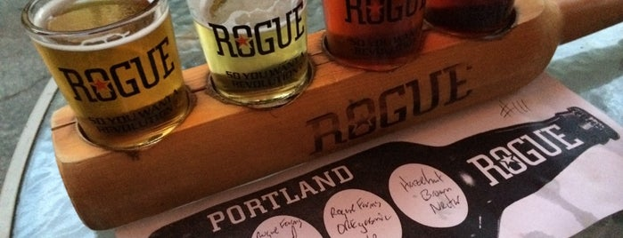 Rogue Ales Public House & Distillery is one of Alex & Caitlin's Wedding Week Spectacular!.