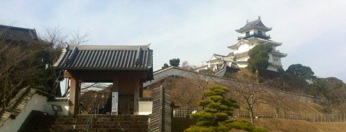 Kakegawa Castle is one of ドライブ|お城スタンプラリー.