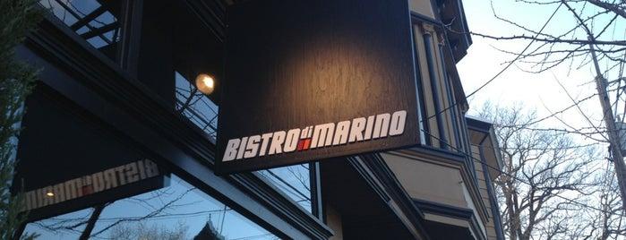 Bistro di Marino is one of Locais salvos de shannon.