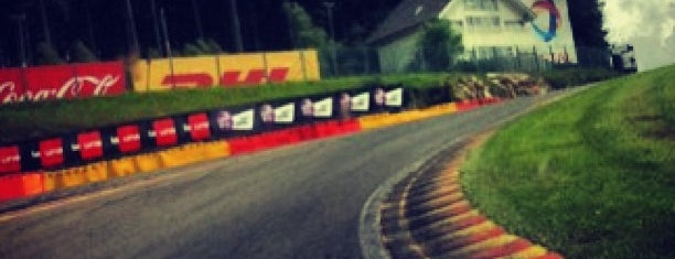 Circuit de Spa-Francorchamps is one of Locais curtidos por Thomas.