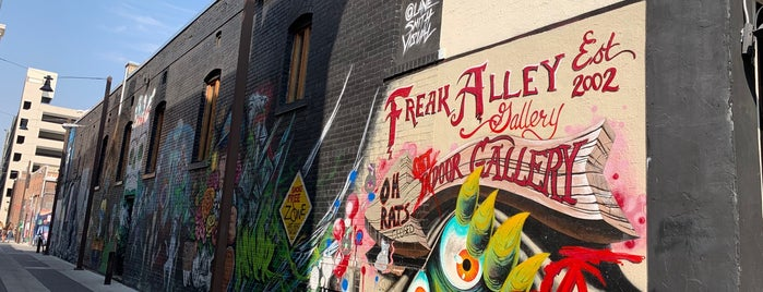 Freak Alley Mural Project is one of Boise.