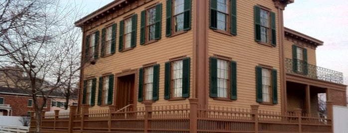 Lincoln Home National Historic Site is one of National Park Service Sites.