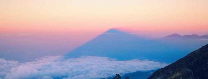 Mont Agung is one of Lieux qui ont plu à Irina.
