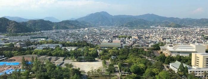 시즈오카 현청 별관 전망 로비 is one of Masahiro 님이 좋아한 장소.