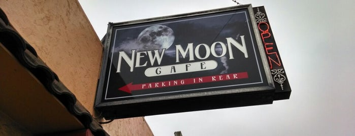 New Moon Cafe is one of AddPepsi.