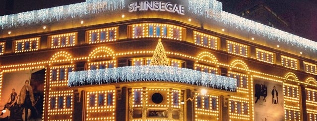SHINSEGAE Department Store is one of Seoul.