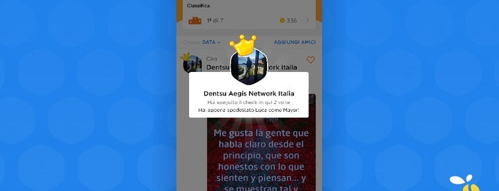 Dentsu Aegis Network Italia is one of Locais curtidos por gallizio.