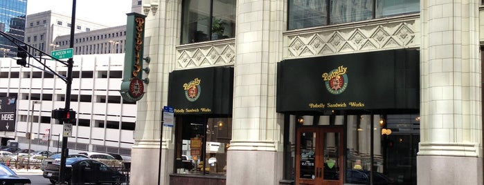 Potbelly Sandwich Shop is one of Andy : понравившиеся места.