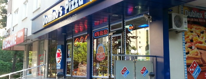Domino's Pizza is one of Istanbul.