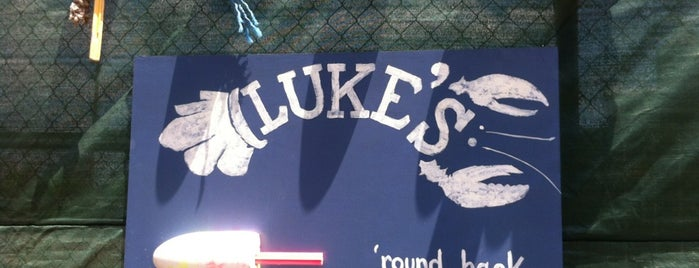 Luke's Lobster is one of Lugares favoritos de Luis Felipe.